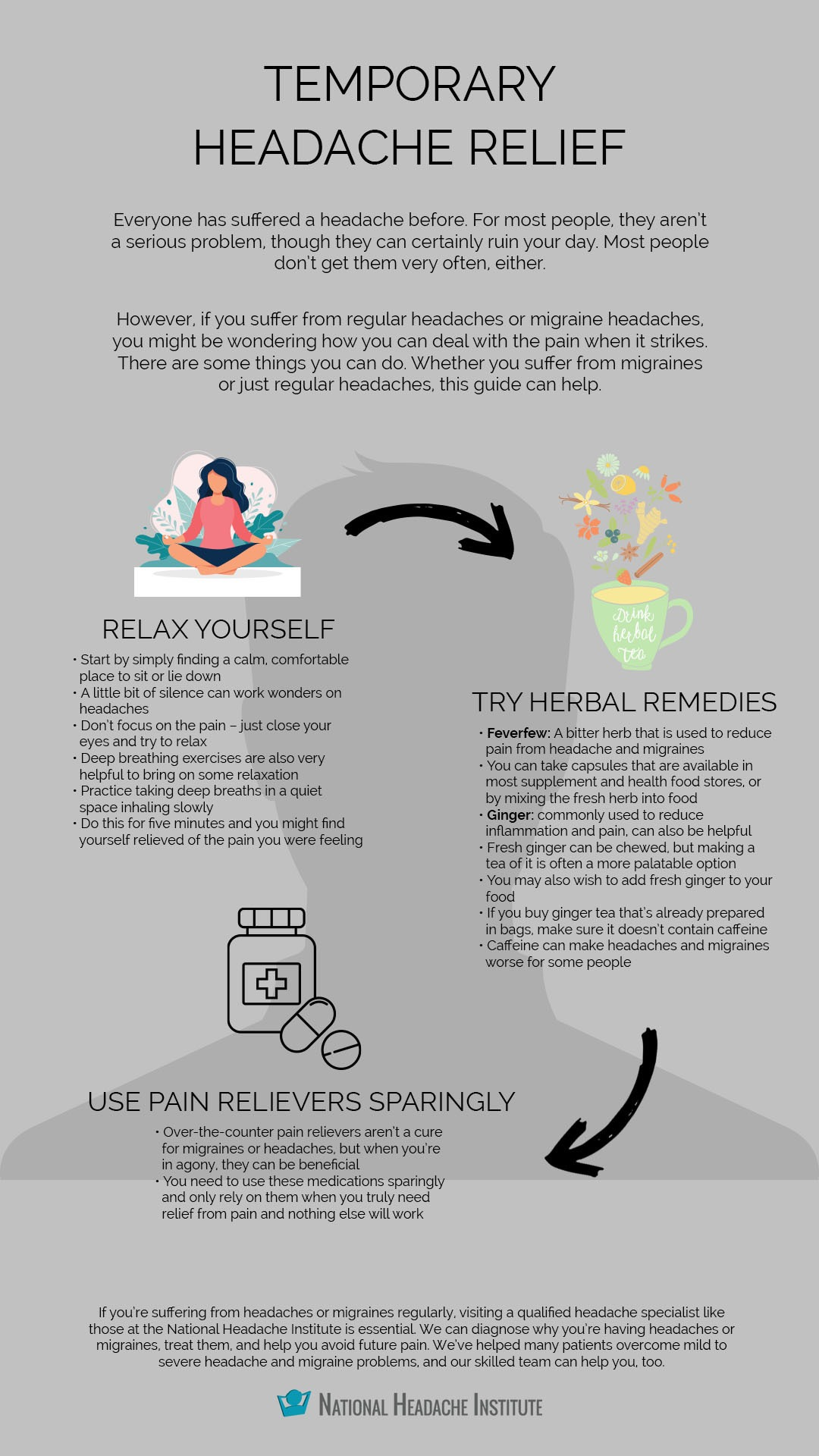 Temporary Headache Relief